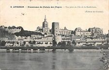 BF3526 panorama du palais des papes avignon france