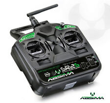 Absima 2 Channel Stick Radio System Transmitter & Receiver SR2S AFHDS 2.4GHz RC