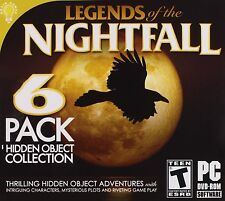 Legends of the Nightfall - PC Hidden Object Puzzle Game - New