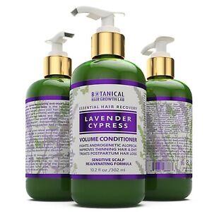 BOTANICAL HAIR GROWTH LAB Anti Hair Loss Conditioner / Lavender Cypress 10.2 Oz