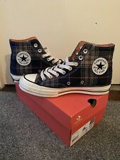 Converse All Star Hi 70's - Flannel/Plaid Upper UK7 - Great Condition