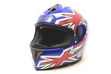 Shark 25i Britain jack union Motorcycle Riding Helmet M