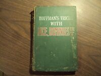 Hoffman's Tricks with Dice Dominoes Balls Hats Stage Conjuring Tricks Rare