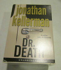 DR. DEATH by Jonathan Kellerman - audiobook  2000 - 8 cassettes 12.5 hrs - EC