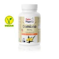 Damiana Blattextrakt 100 Kapseln Tagesportion 1350 mg Für Männer - Hochdosiert