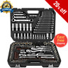"46pcs1/4"" Car Motorcycle Repair Tool Ratchet Wrench Set Drive Socket Spanner"