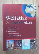 Weltatlas und Länderlexikon, Nachschlagewerk Lexikon Schule Geografie NEU