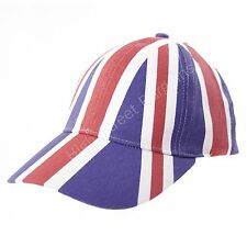 Union Jack Baseball Cap England GB Flag Hat