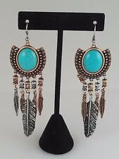 Multi Colored and Turquoise FASHION Earrings