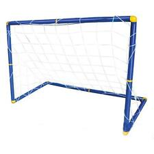 Adjustable Portable Football Soccer Goal Post Net Set Pump For Children Kids