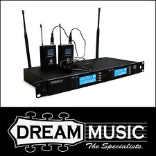 Ashton AWM350BP Dual Wireless Microphone System