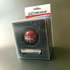 Red Carbon MUGEN 6 MT Sport Gear Shift Knob for Honda Civic Type R EK9 DC5 EP AP