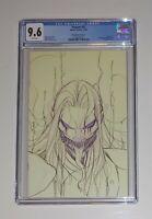 Venom #27 Peach Momoko Sketch Variant CGC 9.6