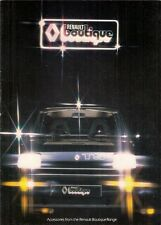 Renault Boutique Accessories 1979 UK Market Brochure 4 5 6 12 14 16 18 15 17 30