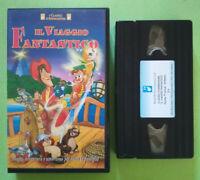 VHS Film Ita Animazione IL VIAGGIO FANTASTICO Alfadedis no dvd cd mc lp (V41) °