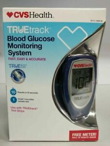 NEW IN BOX TRUE TRACK blood glucose monitoring system