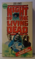 Night Of The Living Dead 1990 Rare & OOP Horror Movie RCA Columbia Pictures VHS