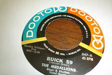 BUICK 59 THE MEDALLIONS CLEAN RNB 45 DOOTOO NICE