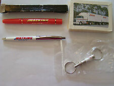 Watkins Motor Lines Pen Perfume Stick Playing Cards Key Chain Very Good NR