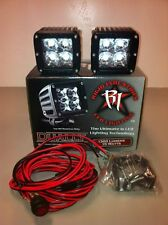 RIGID Industries Dually SPOT PAIR 2 LED Light Offroad **Free Light Covers* 20221