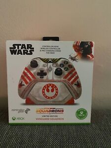 NEW Star Wars Squadrons Limited Ed. Xbox One Controller & Charging Stand Bundle
