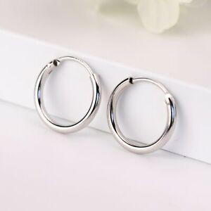 Small Hoop Huggies Sterling Silver Hoop Earring Everyday Earring Minimalist