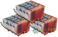 12 Canon PGI-5 CLI-8 Compatible Ink Cartridges PGI-5Bk
