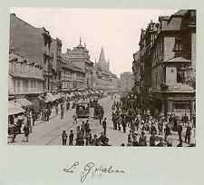Prague - Le Graben Photomécanique Photomécanique  10x14  Circa 1890