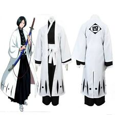 Unohana Retsu BLEACH Cosplay Costume Death 4th Division Captain Any Size Unisex
