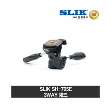 Slik Camera Tripod 3-Ways Pan and Tilt Head SH-705E Camera Accessories