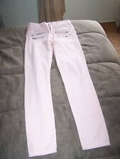 Ladies Pink River Island Jeans Size 8/34 in Great Condition