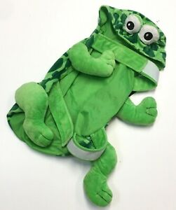 Dog Pet Halloween Costume Plush Green Frog Size Large New With Tags