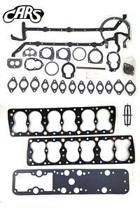 1936-1948 Lincoln 267 292 305 V12 | Full Engine Gasket Set | Best Gasket