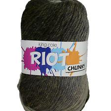King Cole Riot Chunky - Multi Coloured Yarn 100g