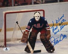 JIM CRAIG SIGNED AUTOGRAPHED 8x10 PHOTO + I BLEED RED WHITE AND BLUE BECKETT BAS
