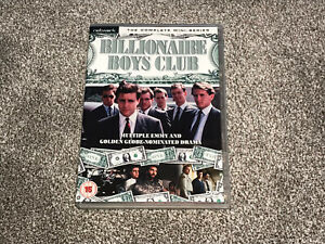 BILLIONAIRE BOYS CLUB : THE COMPLETE MINI SERIES - DVD SET IN VGC (FREE UK P&P)