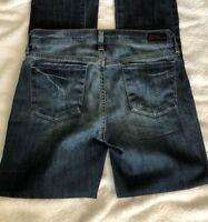 Citizens Of Humanity Ava Jeans Womens Size 25 Low Waist Straight Leg Distressed