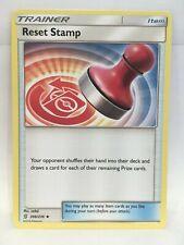 Remise à Zéro Tampon 206/236 Pokémon TCG Sun & Moon Unifié Opinions Simple Carte