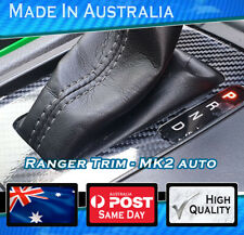 Carbon Shift trim Sticker fits ford ranger .Console Decal Gloss Carbon finish