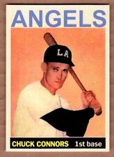 Chuck Connors '51 Los Angeles Angels Monarch Corona Private Stock #12 mint cond