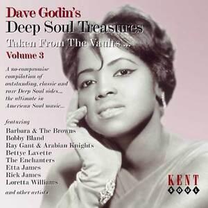 Dave Godin's Deep Soul Treasures Vol 3 (CDKEND 200)