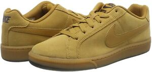 Nike Mens Court Royale Suede Tan Trainers 819802 700 Multiple Sizes