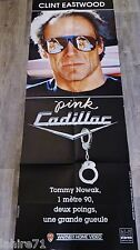 clint eastwood PINK CADILLAC ! affiche RARE