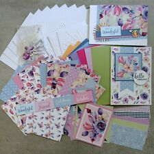 BOHO BLOOMS FLORAL FLOWERS BOTANICAL 6x4 A5 CARD PAPER PACK#1 60+ PIECES