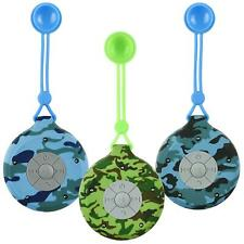 Camouflage Waterproof Bluetooth Shower Speaker USB Rechargeable Portable Outdoor