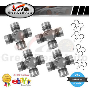 4 FRONT&REAR UNI UNIVERSAL JOINT FOR TOYOTA HILUX 4WD KUN26 LN106R LN167R LN172R