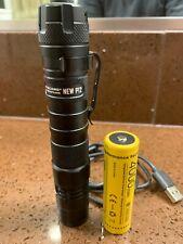 Nitecore NEW P12 1200 Lumen TacticalLED Flashlight 4000mah battery USB C