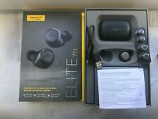 Jabra Elite 75t Headphones(Black) Right Earbud with other accessories displayed