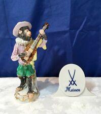 Meissen Porcelain Figurine Guitarist Monkey Orchestra 60017/900300 NEW