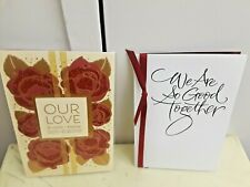 "Lot 2 HALLMARK ""Love You"" Card WE ARE GOOD Together Mahogany Valentine NEW"